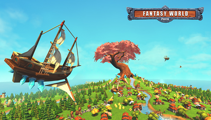 Fantasy World Pack Low Poly
