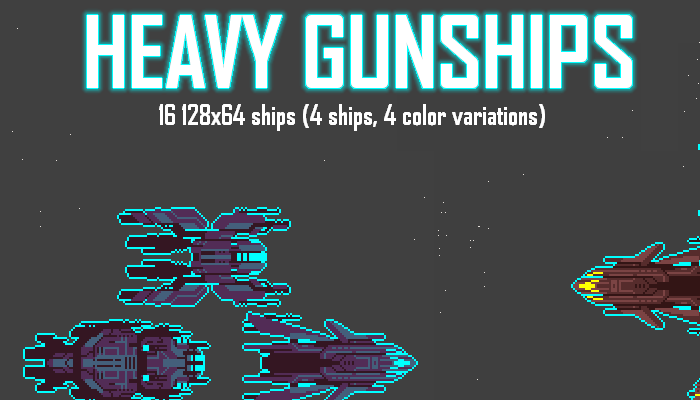 Heavy Gunships