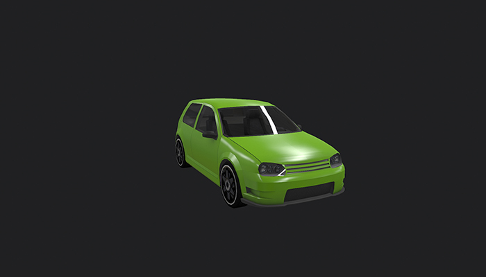 Low Poly Destructible 2Cars no. 8