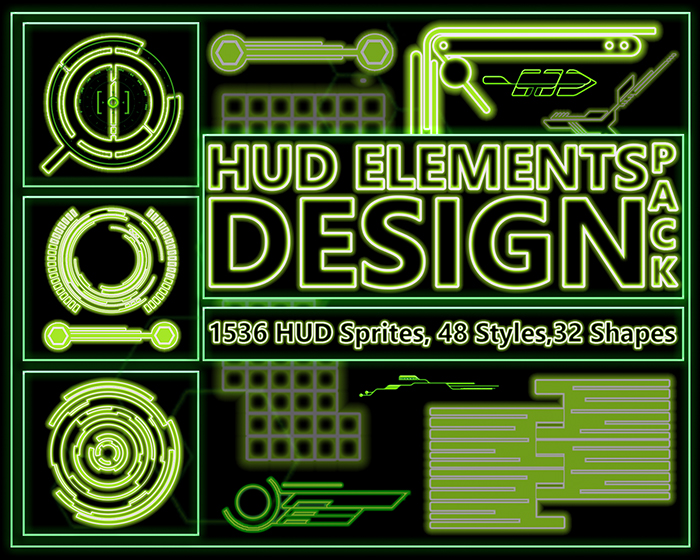 HUD Element Design Pack