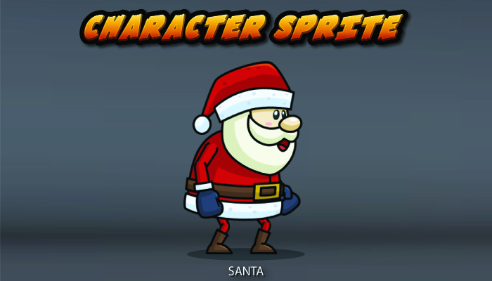 Santa Character Sprite