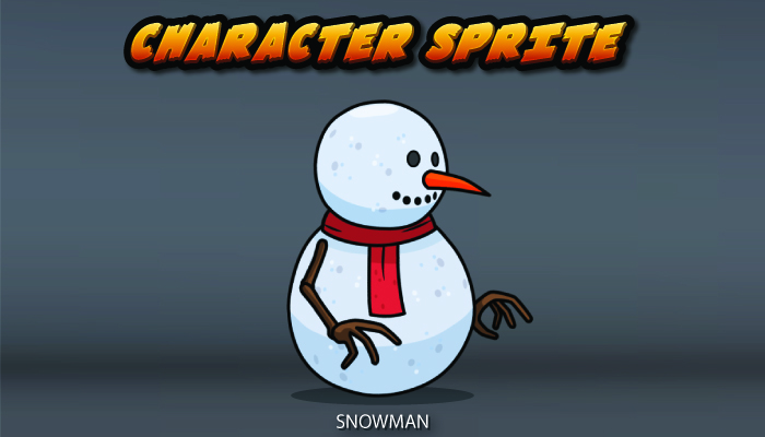 Snowman Character Sprite