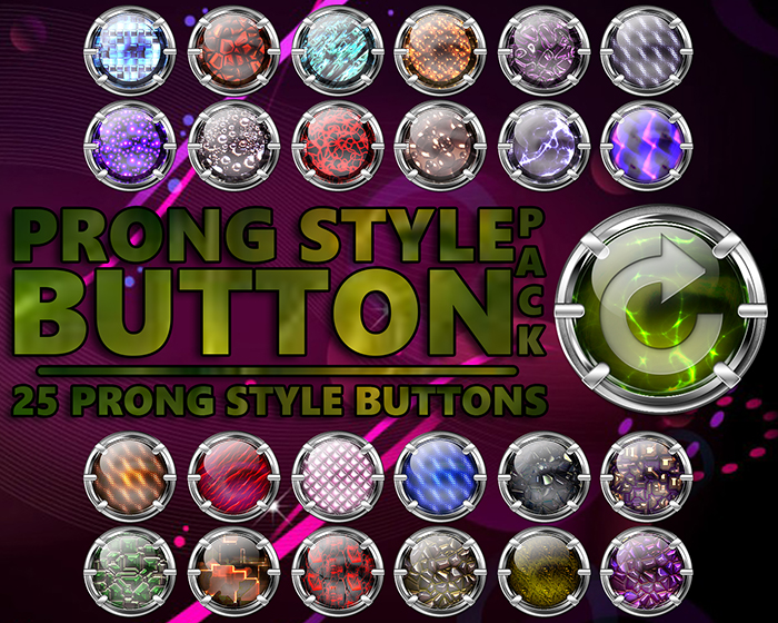 Prong Style Button Pack