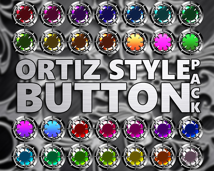 Ortiz Style Button Pack