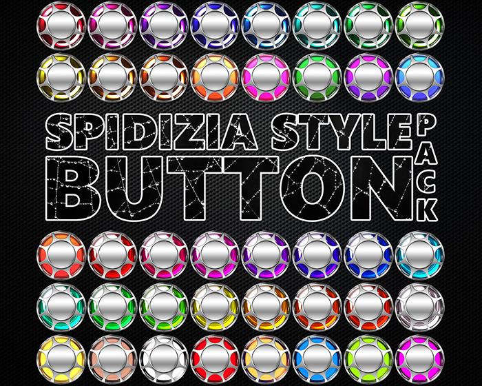 Spidizia Style Button Pack