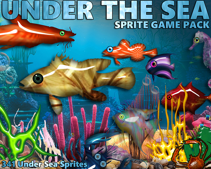Under The Sea Game Pack