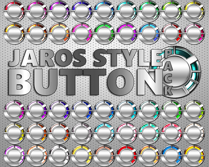 Jaros Style Button Pack