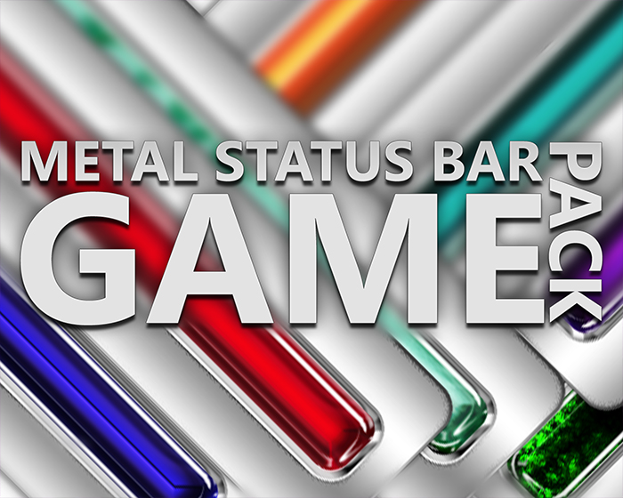 Metal Status Bar Game Pack