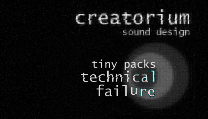 Creatorium tiny packs – Technical failure