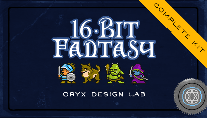 16-Bit Fantasy Sprite Set