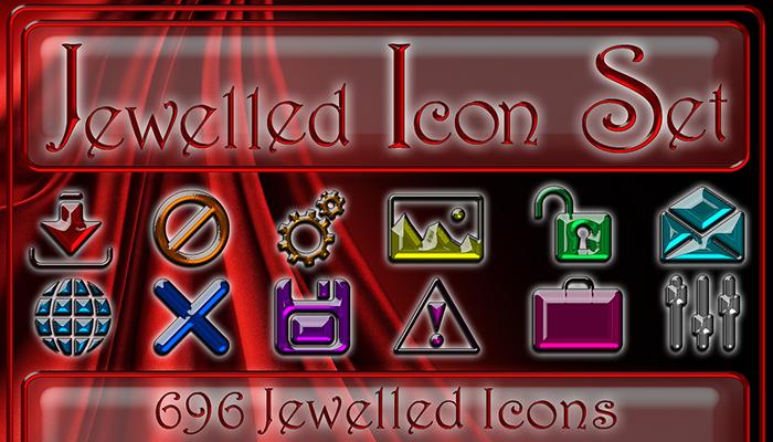 Jewelled Icon Set