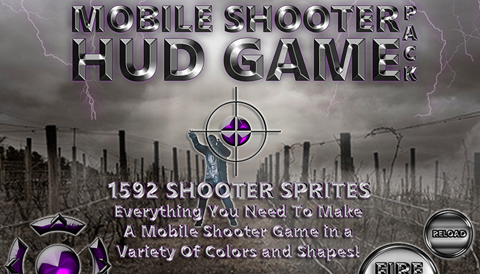 Shooter HUD Game Pack