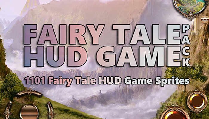 Fairy Tale HUD Game Pack