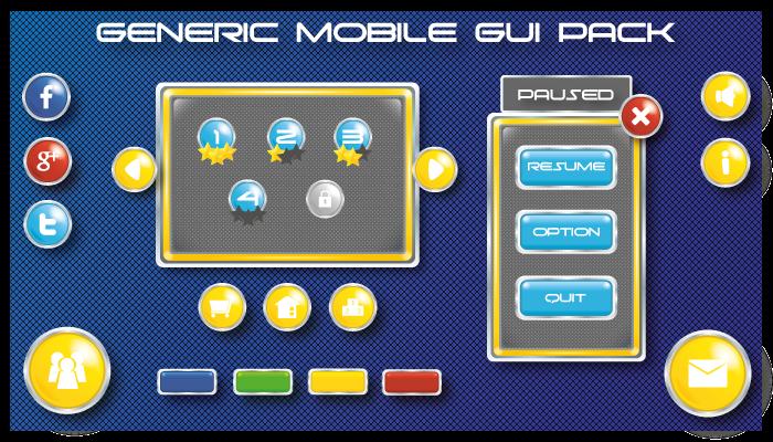 Generic Mobile GUI