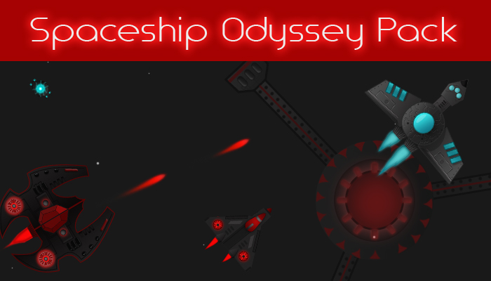 Spaceships Shooter Game Assets Pack: Donation Pack
