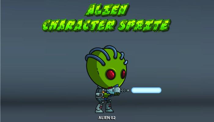 Alien Character Sprite – 02