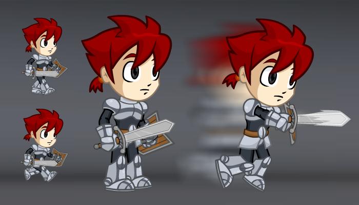 A Chibi Knight