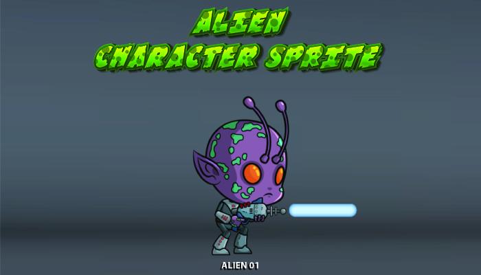 Alien Character Sprite – 01