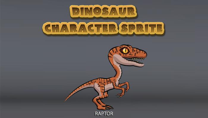 Dinosaur Character Sprite – Raptor