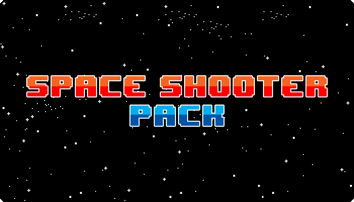 Pixel Space Shooter Pack