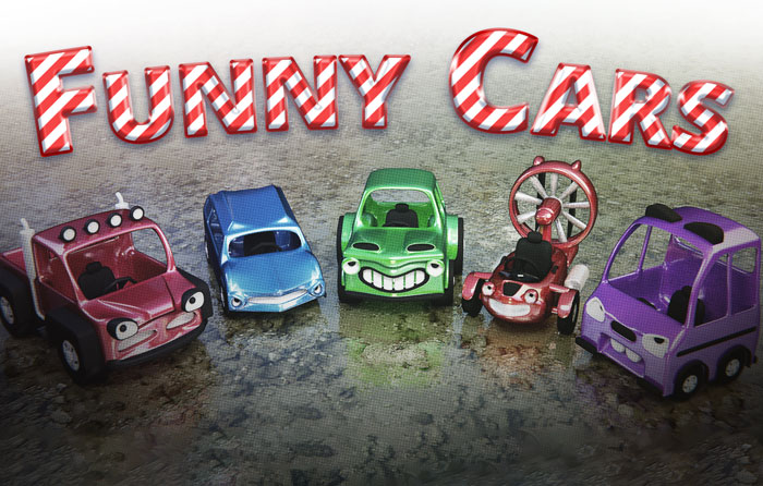 Funny cars pack