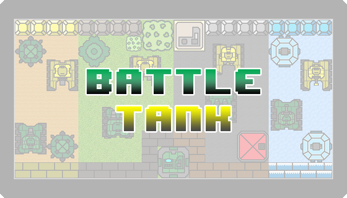 Pixel Battle Tank Pack