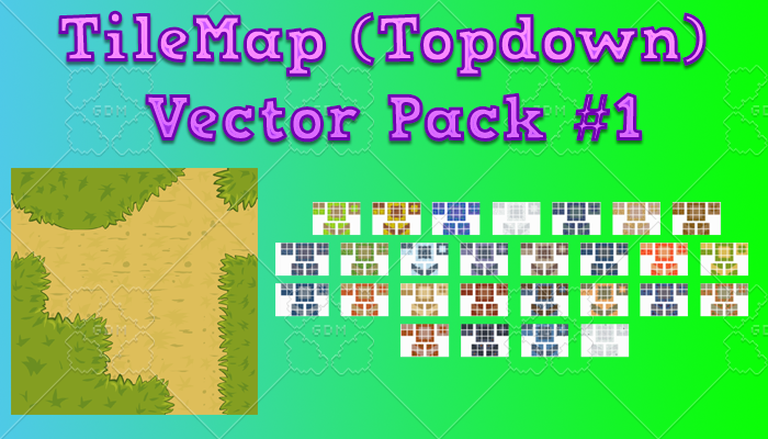 TileMap Topdown Vector Pack 1