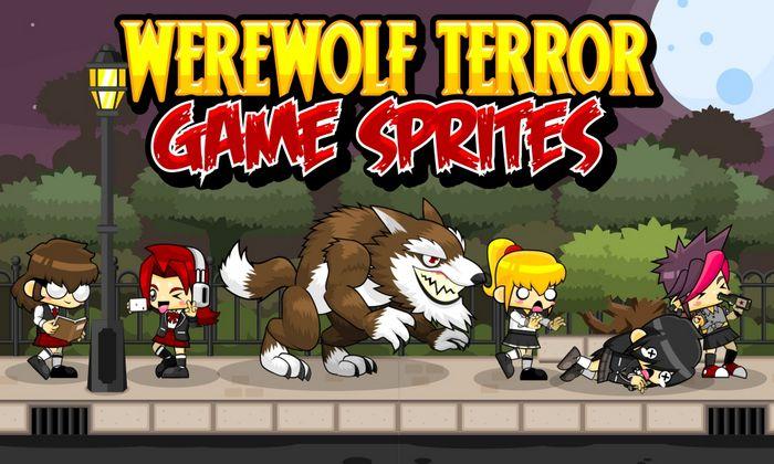 Werewolf Terror – Game Sprites