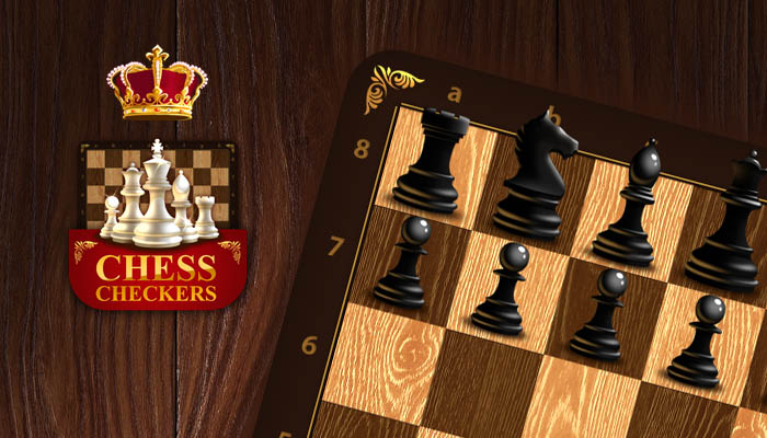Chess and checkers game kit