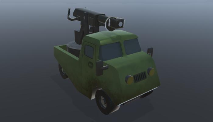 Dieselpunk Truck