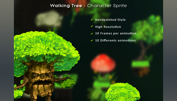 Walking Tree – Character Sprite