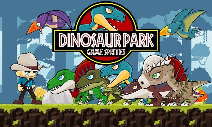 Dinosaur Park – Game Sprites