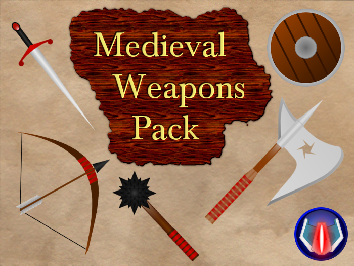 Medieval Weapons Pack – Vector Art