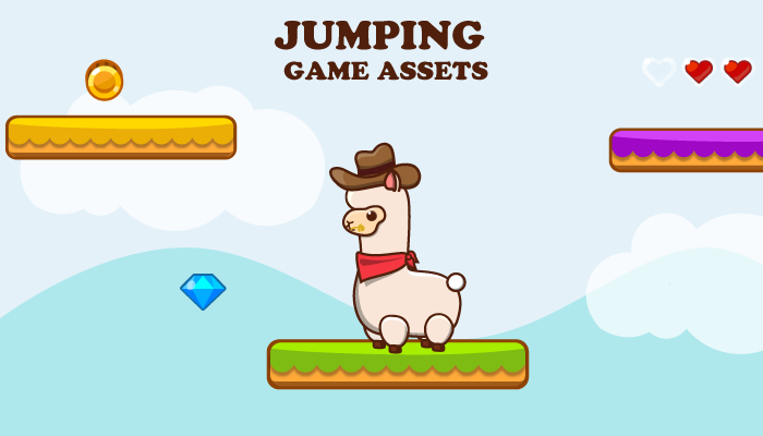 Jumping Game Asset