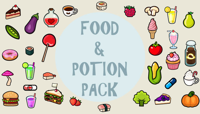Food and Potion Set