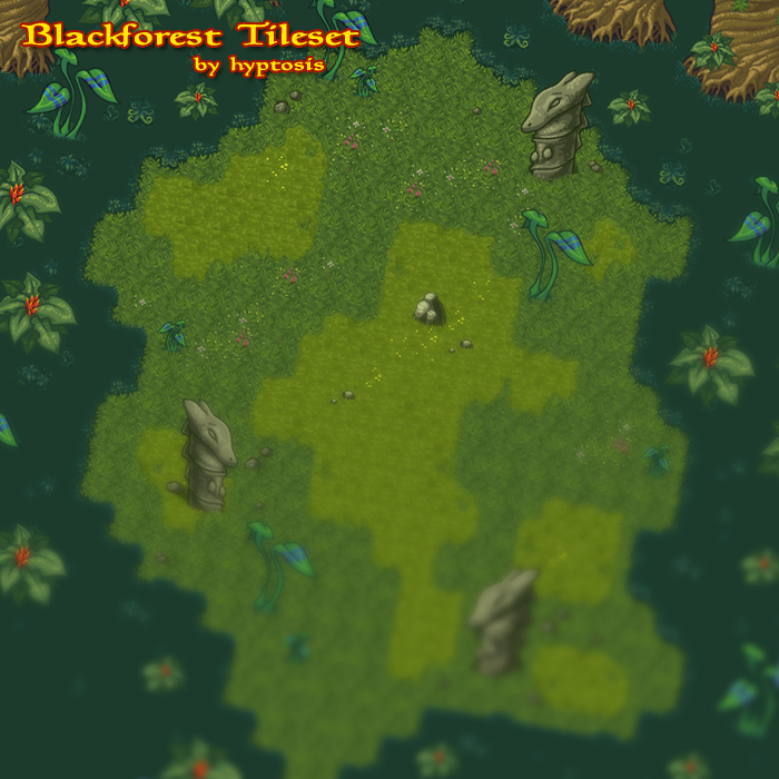 Blackforest Tileset