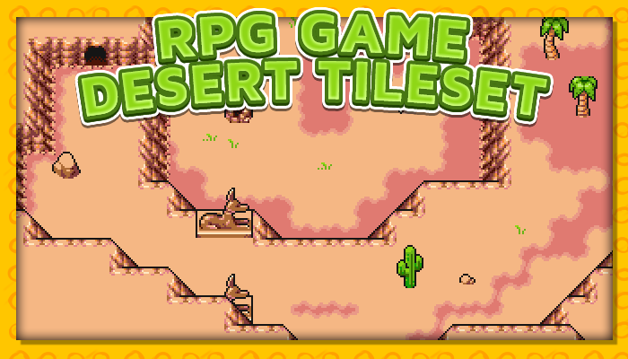 7Soul's RPG Graphics – Tiles – Desert