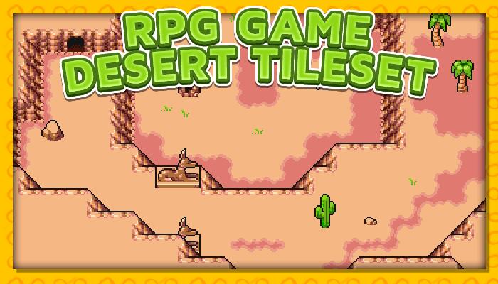 7Soul's RPG Graphics – Tiles – Desert