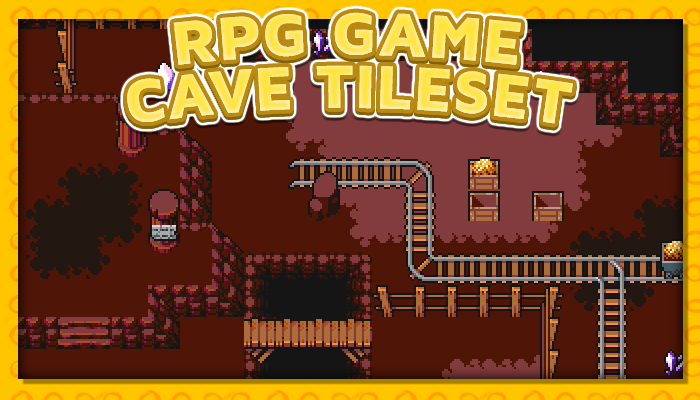 7Soul's RPG Graphics – Tiles – Cave