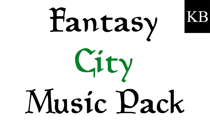 Fantasy City Music Pack