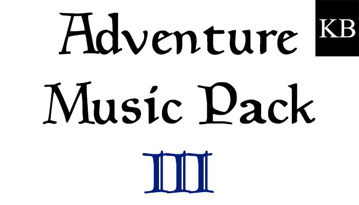 Adventure Music Pack III