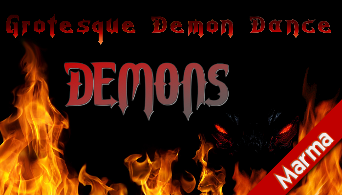 Demons – Grotesque Demon Dance