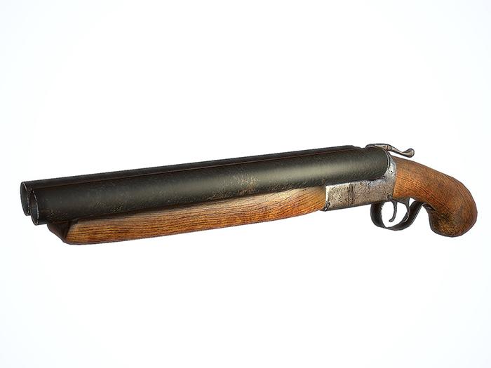 Lupara Sawed-off Shotgun