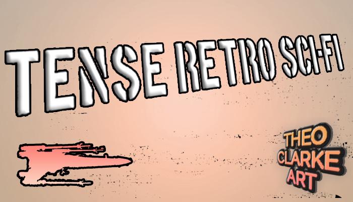 Tense Retro Sci-Fi Music!