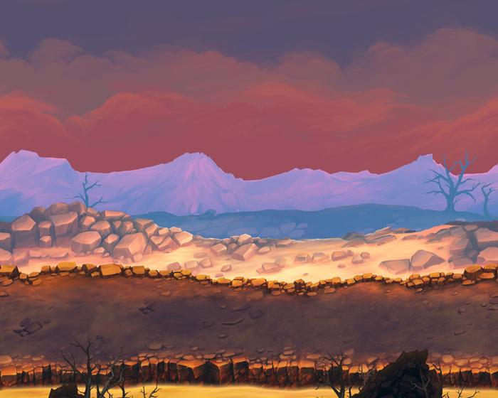 Volcano – Game Background