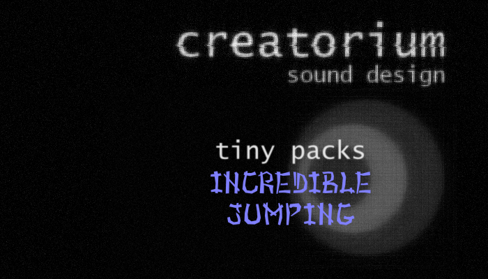 Creatorium tiny packs – Incredible Jumping