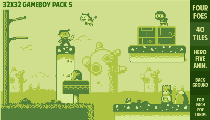 32×32 gameboy pack 5