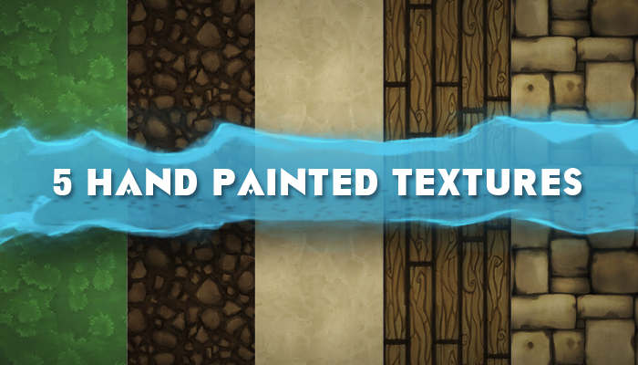 Hand Painted Textures v1