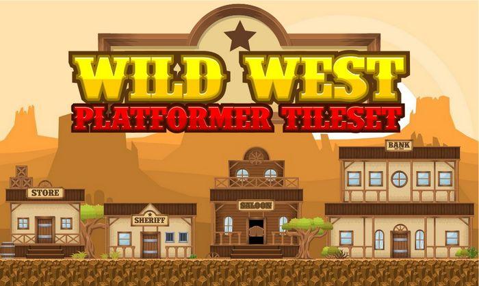 Wild West – Platformer Tileset