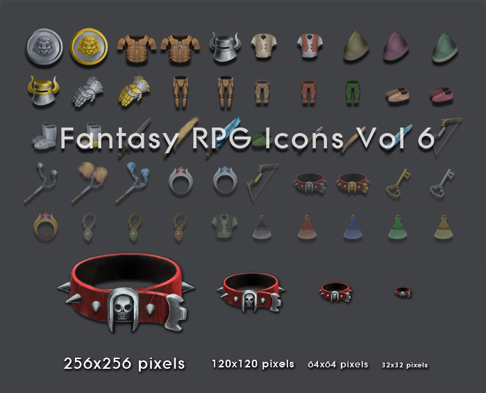 Fantasy RPG Items Vol. 6